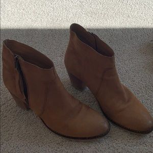 Urban outfitters light brown booties